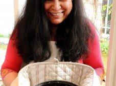 Priya Deshingkar & venison qorma
