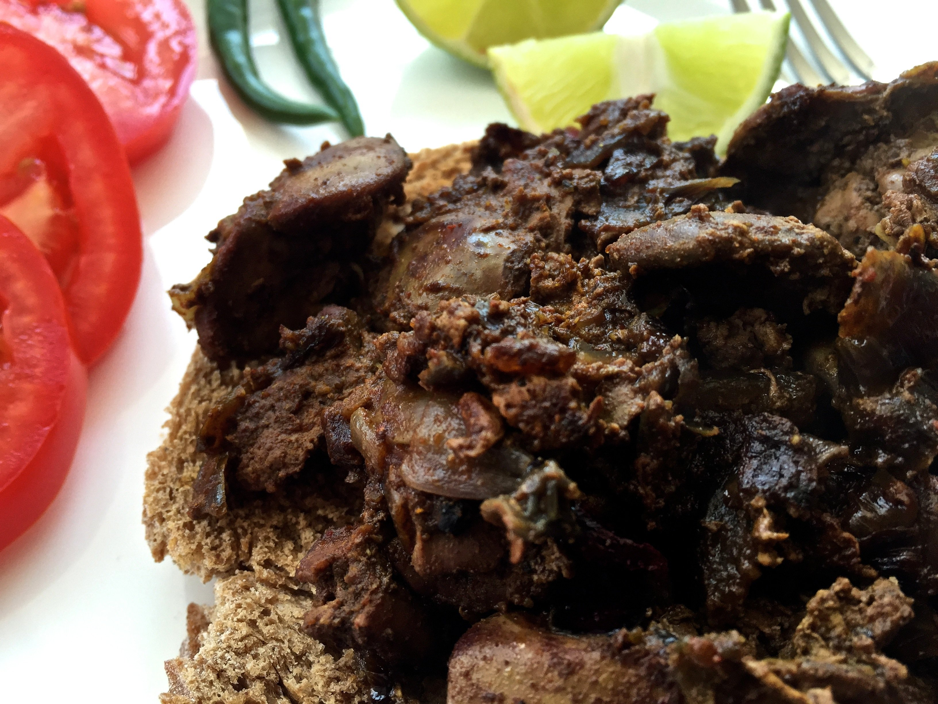 Chicken Liver Fry Deccan Tiffin